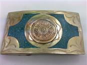 Silver Belt Buckle 925 Silver 59.6g